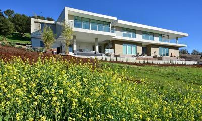 Los Altos Hills Single Family Home For Sale: 12825 Deer Creek Ln