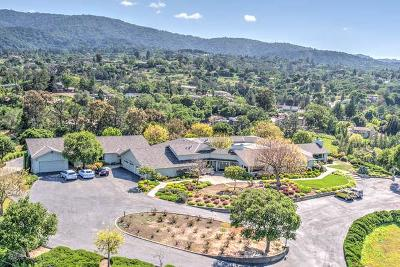 Los Altos Hills Single Family Home For Sale: 26000 Westwind Way