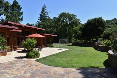 Portola Valley Single Family Home For Sale: 110 Willowbrook Dr