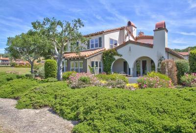 Monterey Single Family Home For Sale: 100 Las Brisas Dr