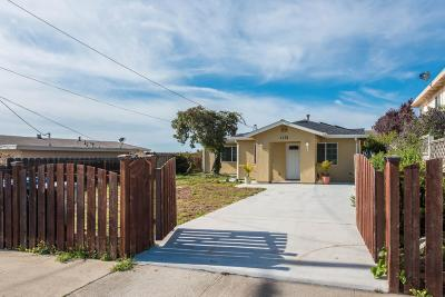 SEASIDE CA Single Family Home For Sale: $540,000