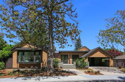 Palo Alto Single Family Home For Sale: 11 Phillips Rd