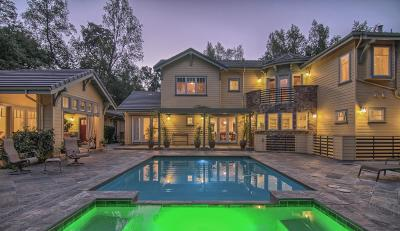 Santa Clara County Single Family Home For Sale: 16235 Greenwood Ln