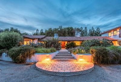LOS GATOS Single Family Home For Sale: 18921 Bear Creek Rd