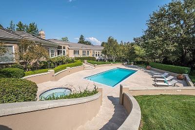 Los Altos Hills Single Family Home For Sale: 25528 Hidden Springs Ct