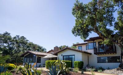 Carmel Valley Single Family Home For Sale: 250 El Caminito Rd