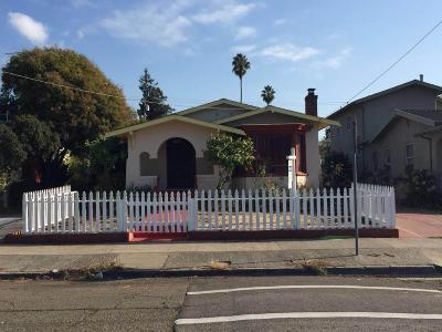 OAKLAND Single Family Home For Sale: 2736 Bartlett St