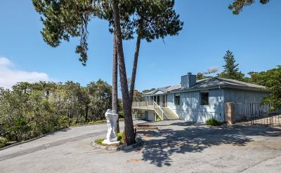 Carmel Highlands Single Family Home For Sale: 122 Cypress Way
