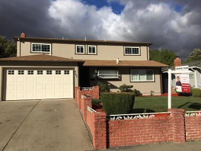 MILPITAS Single Family Home For Sale: 567 Greathouse Dr