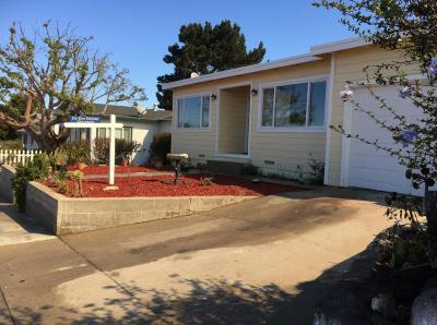 SEASIDE CA Single Family Home For Sale: $494,000