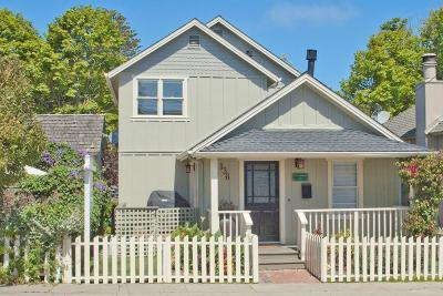 Pacific Grove Single Family Home For Sale: 136 19th St