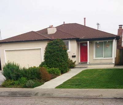 East Palo Alto Single Family Home For Sale: 468 Wisteria Dr