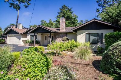 Pebble Beach Single Family Home For Sale: 3005 Sloat Rd