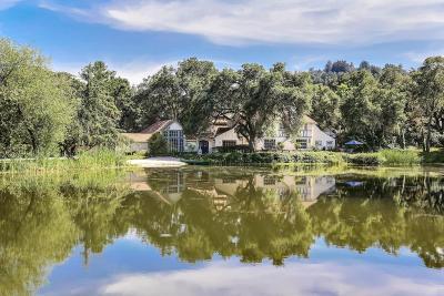 Woodside Single Family Home For Sale: 1550 Portola Rd