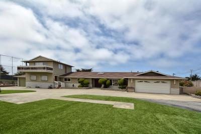 Marina Single Family Home For Sale: 3285 Drew St