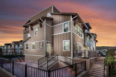 DALY CITY Townhouse For Sale: 15 Hibiscus Ct