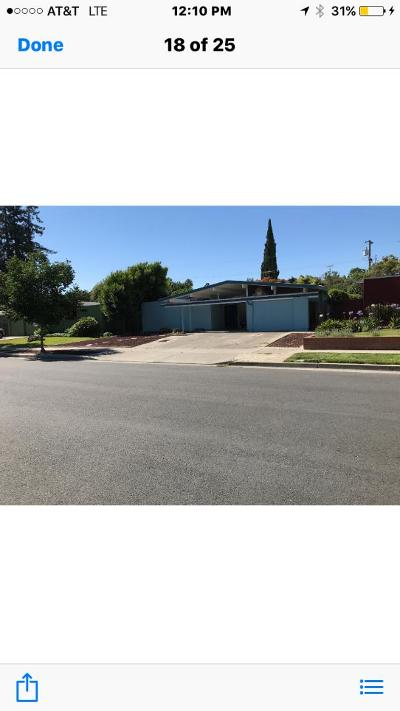 CUPERTINO Single Family Home For Sale: 728 Stendhal Ln