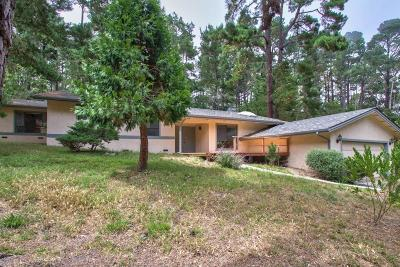 Pebble Beach Single Family Home For Sale: 4060 Crest Rd