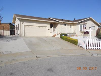 MARINA CA Single Family Home Contingent: $549,999