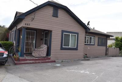 SALINAS Single Family Home For Sale: 440 Soledad St