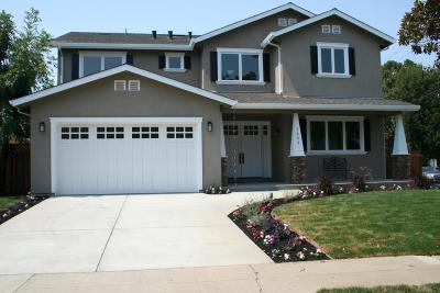SAN JOSE Single Family Home For Sale: 1653 Arbor Drive