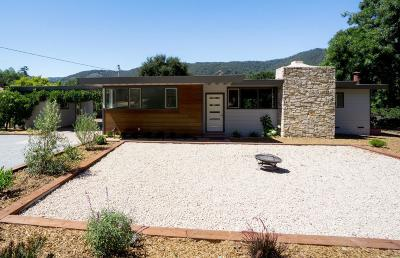 Carmel Valley Single Family Home For Sale: 21 Via Contenta