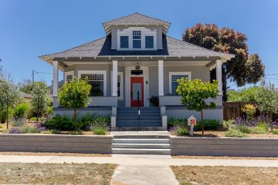 Pacific Grove Single Family Home For Sale: 247 Pine Ave