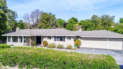 Los Altos Hills Single Family Home For Sale: 26088 Duval Way
