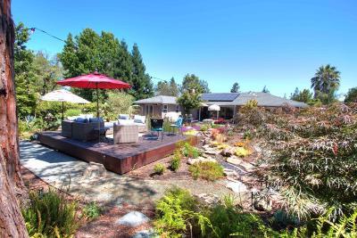 Woodside Single Family Home For Sale: 2452 Alameda De Las Pulgas