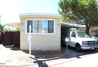 Santa Clara County Mobile Home For Sale: 158 El Bosque St 158