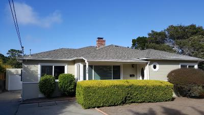 MONTEREY Single Family Home For Sale: 108 Soledad Dr