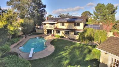 Saratoga Single Family Home For Sale: 13001 Saratoga Sunnyvale Rd