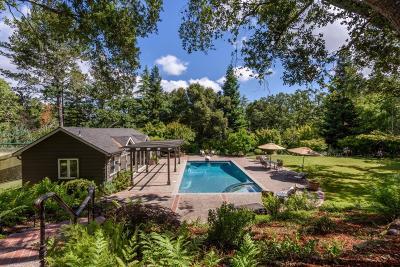Portola Valley Single Family Home For Sale: 1360 Westridge