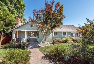 LOS GATOS Single Family Home For Sale: 16130 Lilac Ln