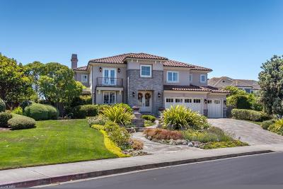 Half Moon Bay Single Family Home For Sale: 46 Spyglass Ct