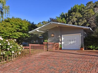 Redwood City Single Family Home For Sale: 1827 Cordilleras Rd