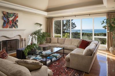 Pebble Beach Single Family Home For Sale: 4038 Sunridge Rd