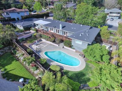LOS GATOS Single Family Home For Sale: 14564 Eastview Dr