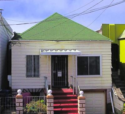 DALY CITY Single Family Home For Sale: Bellevue Ave