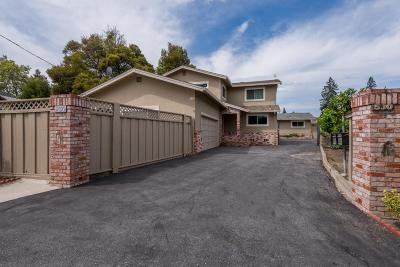 Redwood City Single Family Home Contingent: 530 Sapphire St