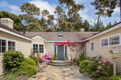 Pebble Beach Single Family Home Contingent: 3129 Bird Rock Rd