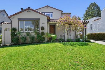 Burlingame Single Family Home For Sale: 2217 Adeline Dr