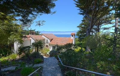 Carmel Highlands Single Family Home For Sale: 176 Spindrift