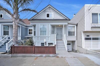 SAN FRANCISCO Multi Family Home For Sale: 342 Lisbon St