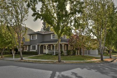 Morgan Hill Single Family Home For Sale: 15635 La Tierra Dr
