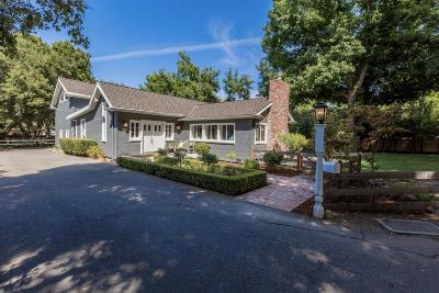 LOS GATOS Single Family Home For Sale: 301 Littlefield Ln