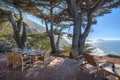 Big Sur Single Family Home For Sale: 40990 Highway 1