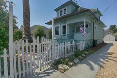 SANTA CRUZ CA Single Family Home For Sale: $898,500