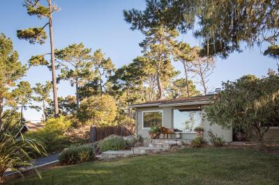 Pebble Beach Single Family Home For Sale: 3071 Strawberry Hill Rd