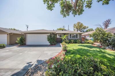 Santa Clara Single Family Home For Sale: 3534 Cabrillo Ave